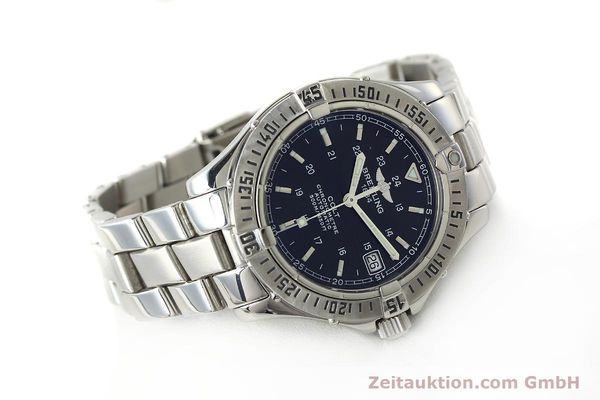 Used luxury watch Breitling Colt steel automatic Kal. B17 ETA 2824-2 Ref. A17350  | 142802 03