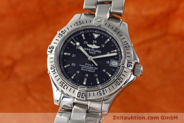 Used luxury watch Breitling Colt steel automatic Kal. B17 ETA 2824-2 Ref. A17350  | 142802 04