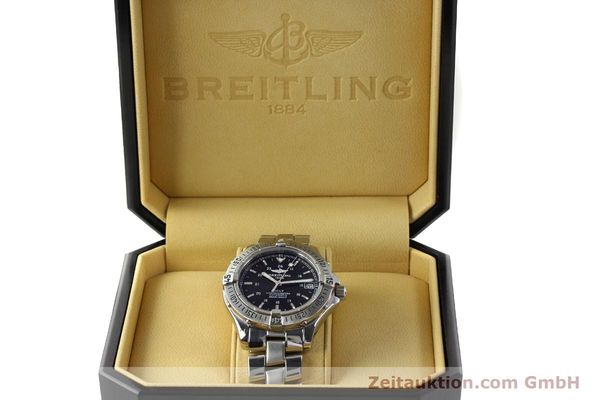 Used luxury watch Breitling Colt steel automatic Kal. B17 ETA 2824-2 Ref. A17350  | 142802 07