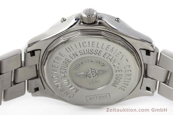 Used luxury watch Breitling Colt steel automatic Kal. B17 ETA 2824-2 Ref. A17350  | 142802 09
