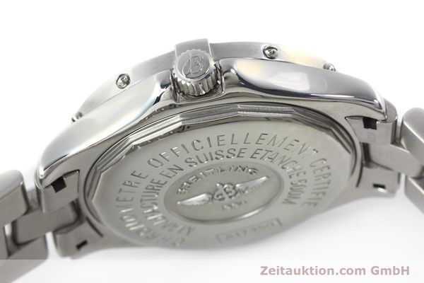 Used luxury watch Breitling Colt steel automatic Kal. B17 ETA 2824-2 Ref. A17350  | 142802 11