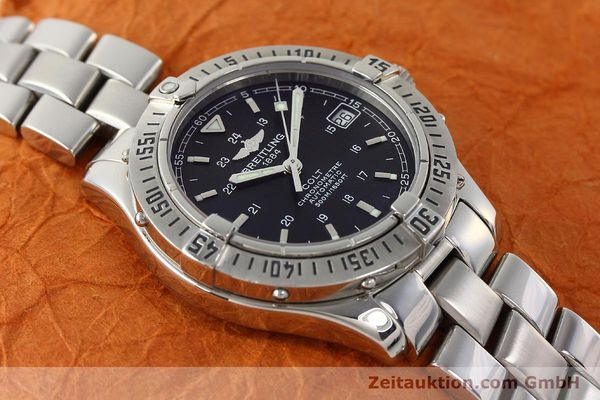 Used luxury watch Breitling Colt steel automatic Kal. B17 ETA 2824-2 Ref. A17350  | 142802 15
