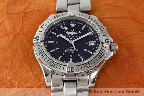 Used luxury watch Breitling Colt steel automatic Kal. B17 ETA 2824-2 Ref. A17350  | 142802 16