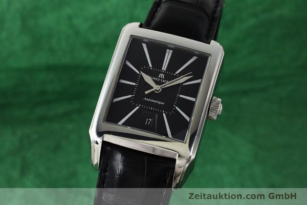 Used luxury watch Maurice Lacroix Pontos steel automatic Kal. ML115 Ref. PT6117  | 142803 04