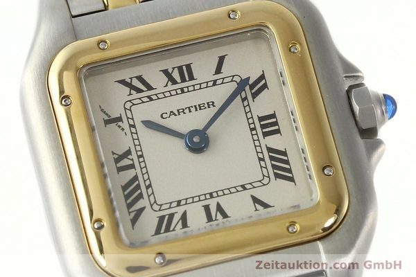 montre de luxe d occasion Cartier Panthere acier / or  quartz Kal. 157  | 142807 02