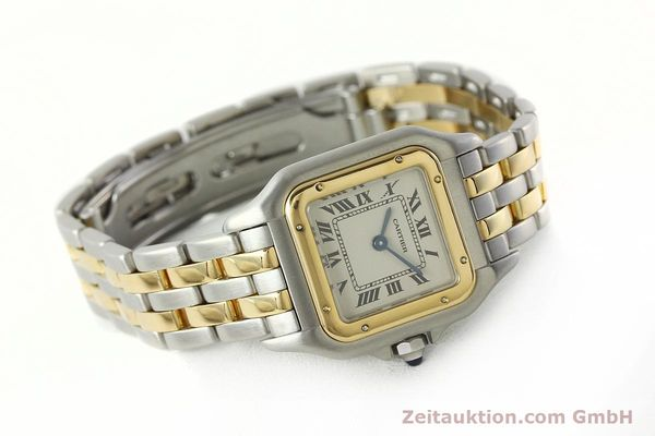 montre de luxe d occasion Cartier Panthere acier / or  quartz Kal. 157  | 142807 03