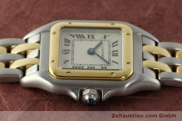 montre de luxe d occasion Cartier Panthere acier / or  quartz Kal. 157  | 142807 05