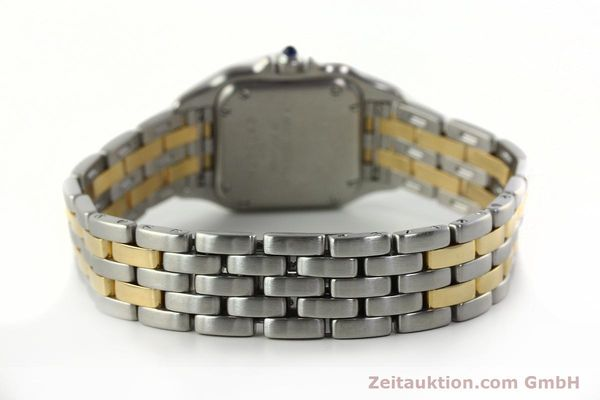 Used luxury watch Cartier Panthere steel / gold quartz Kal. 157  | 142807 10
