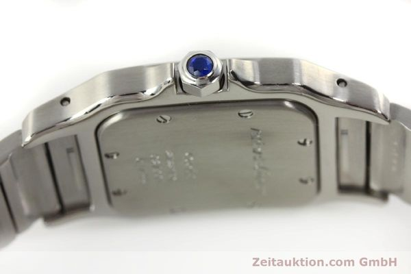 Used luxury watch Cartier Santos steel quartz Kal. 87  | 142810 08