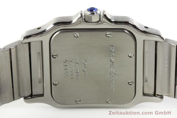 Used luxury watch Cartier Santos steel quartz Kal. 87  | 142810 09