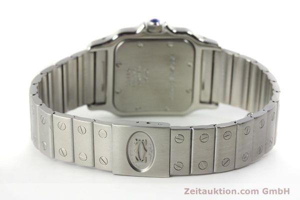 Used luxury watch Cartier Santos steel quartz Kal. 87  | 142810 10