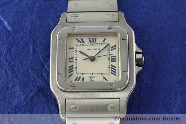 Used luxury watch Cartier Santos steel quartz Kal. 87  | 142810 14