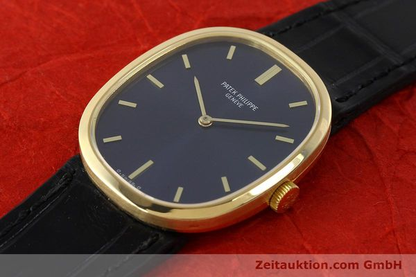 Used luxury watch Patek Philippe Ellipse 18 ct gold manual winding Kal. 23-300 Ref. 3548  | 142811 01