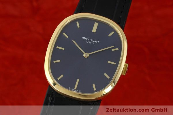 Used luxury watch Patek Philippe Ellipse 18 ct gold manual winding Kal. 23-300 Ref. 3548  | 142811 04