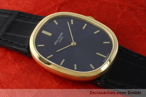 Used luxury watch Patek Philippe Ellipse 18 ct gold manual winding Kal. 23-300 Ref. 3548  | 142811 15
