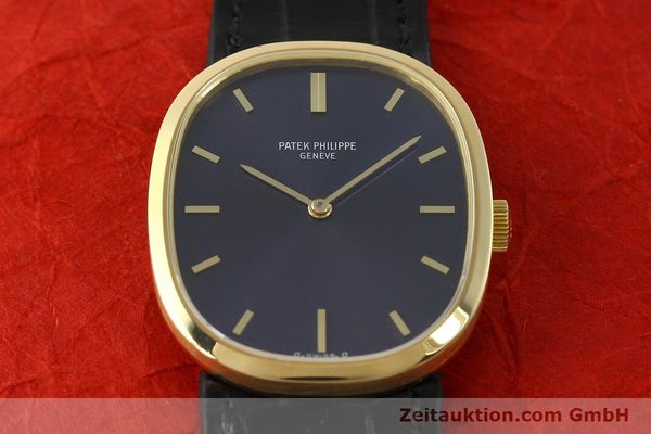 Used luxury watch Patek Philippe Ellipse 18 ct gold manual winding Kal. 23-300 Ref. 3548  | 142811 16