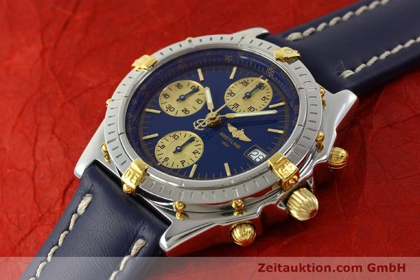 Used luxury watch Breitling Chronomat chronograph steel / gold automatic Kal. B13 ETA 7750 Ref. B13050.1  | 142813 01