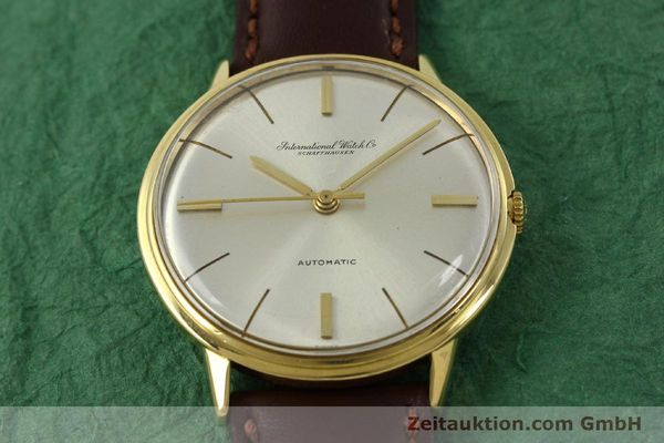 Used luxury watch IWC Portofino 18 ct gold automatic Kal. 854 Ref. 803A  | 142815 15