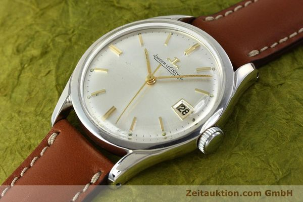 Used luxury watch Jaeger Le Coultre * steel manual winding Kal. 886  | 142817 01