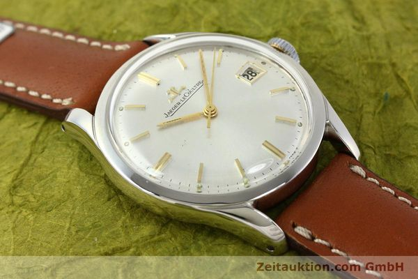 Used luxury watch Jaeger Le Coultre * steel manual winding Kal. 886  | 142817 12