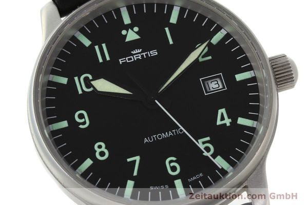 Used luxury watch Fortis Flieger steel automatic Kal. ETA 2894-2 Ref. 595.10.46  | 142818 02