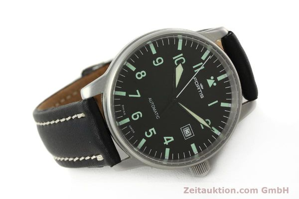 Used luxury watch Fortis Flieger steel automatic Kal. ETA 2894-2 Ref. 595.10.46  | 142818 03