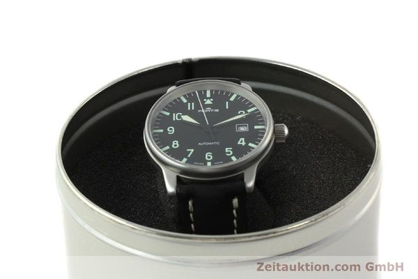 Used luxury watch Fortis Flieger steel automatic Kal. ETA 2894-2 Ref. 595.10.46  | 142818 07