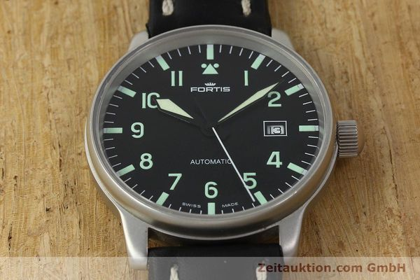 Used luxury watch Fortis Flieger steel automatic Kal. ETA 2894-2 Ref. 595.10.46  | 142818 15