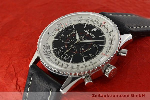 Used luxury watch Breitling Montbrillant chronograph steel automatic Kal. B30 ETA 2892A2 Ref. A30030.2  | 142821 01