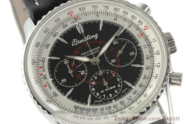 Used luxury watch Breitling Montbrillant chronograph steel automatic Kal. B30 ETA 2892A2 Ref. A30030.2  | 142821 02