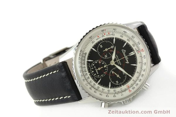 Used luxury watch Breitling Montbrillant chronograph steel automatic Kal. B30 ETA 2892A2 Ref. A30030.2  | 142821 03