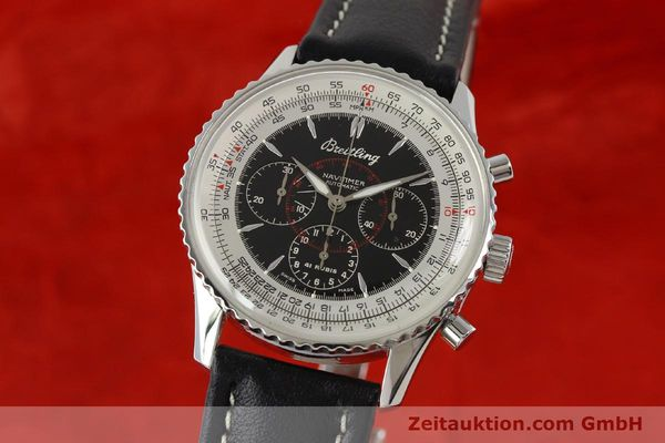 Used luxury watch Breitling Montbrillant chronograph steel automatic Kal. B30 ETA 2892A2 Ref. A30030.2  | 142821 04
