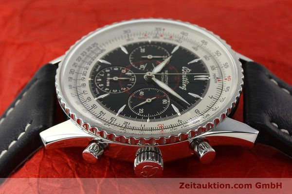 Used luxury watch Breitling Montbrillant chronograph steel automatic Kal. B30 ETA 2892A2 Ref. A30030.2  | 142821 05