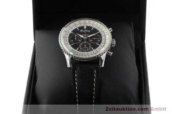 Used luxury watch Breitling Montbrillant chronograph steel automatic Kal. B30 ETA 2892A2 Ref. A30030.2  | 142821 07