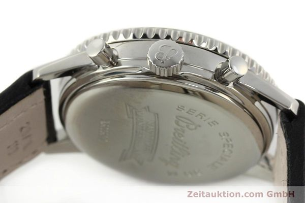 Used luxury watch Breitling Montbrillant chronograph steel automatic Kal. B30 ETA 2892A2 Ref. A30030.2  | 142821 08