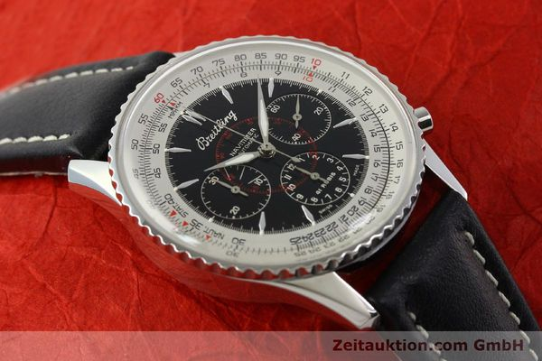 Used luxury watch Breitling Montbrillant chronograph steel automatic Kal. B30 ETA 2892A2 Ref. A30030.2  | 142821 11
