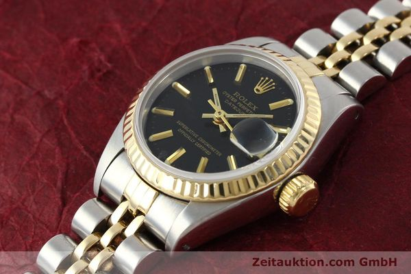 Used luxury watch Rolex Lady Datejust steel / gold automatic Kal. 2135 Ref. 69173  | 142822 01