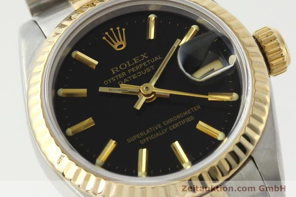Used luxury watch Rolex Lady Datejust steel / gold automatic Kal. 2135 Ref. 69173  | 142822 02