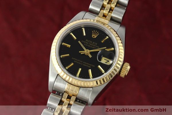 Used luxury watch Rolex Lady Datejust steel / gold automatic Kal. 2135 Ref. 69173  | 142822 04