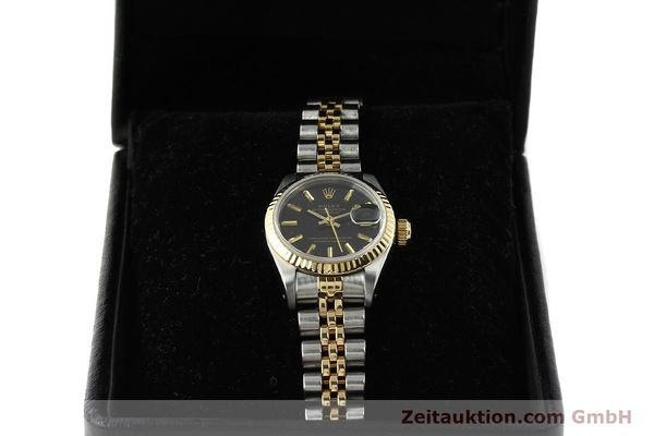Used luxury watch Rolex Lady Datejust steel / gold automatic Kal. 2135 Ref. 69173  | 142822 07