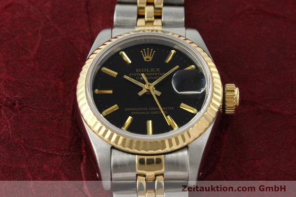 Used luxury watch Rolex Lady Datejust steel / gold automatic Kal. 2135 Ref. 69173  | 142822 16