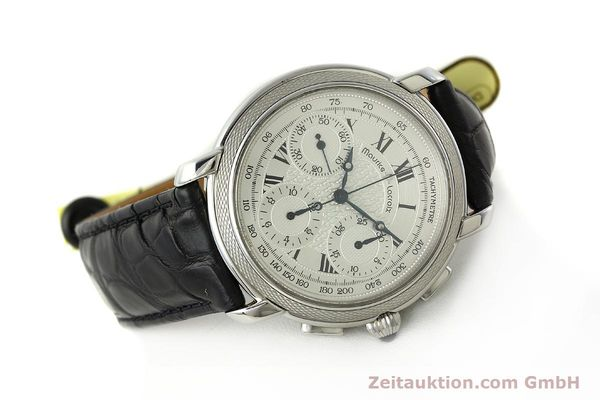 Used luxury watch Maurice Lacroix Masterpiece chronograph steel manual winding Ref. 46578  | 142823 03