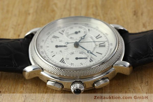 Used luxury watch Maurice Lacroix Masterpiece chronograph steel manual winding Ref. 46578  | 142823 05