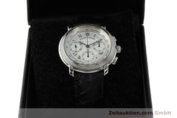 Used luxury watch Maurice Lacroix Masterpiece chronograph steel manual winding Ref. 46578  | 142823 07
