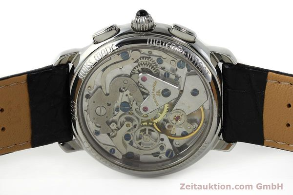 Used luxury watch Maurice Lacroix Masterpiece chronograph steel manual winding Ref. 46578  | 142823 09
