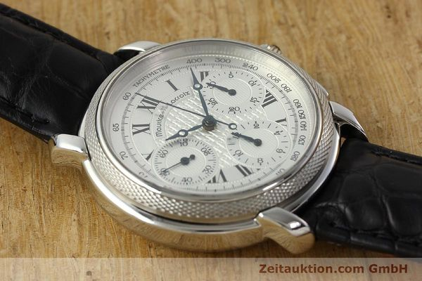 Used luxury watch Maurice Lacroix Masterpiece chronograph steel manual winding Ref. 46578  | 142823 13