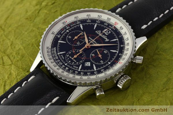 Used luxury watch Breitling Montbrillant chronograph steel automatic Kal. B41 ETA 2892A2 Ref. A41370  | 142825 01