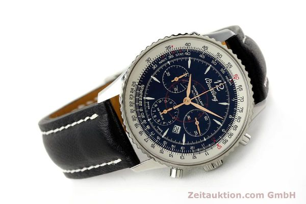 Used luxury watch Breitling Montbrillant chronograph steel automatic Kal. B41 ETA 2892A2 Ref. A41370  | 142825 03