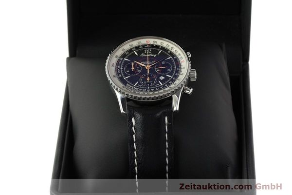 Used luxury watch Breitling Montbrillant chronograph steel automatic Kal. B41 ETA 2892A2 Ref. A41370  | 142825 07