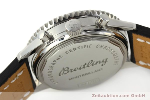 Used luxury watch Breitling Montbrillant chronograph steel automatic Kal. B41 ETA 2892A2 Ref. A41370  | 142825 08